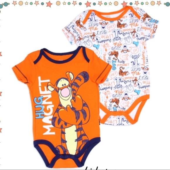 dc5556fcd Disney One Pieces | Baby Boy Tigger Bodysuit Set | Poshmark